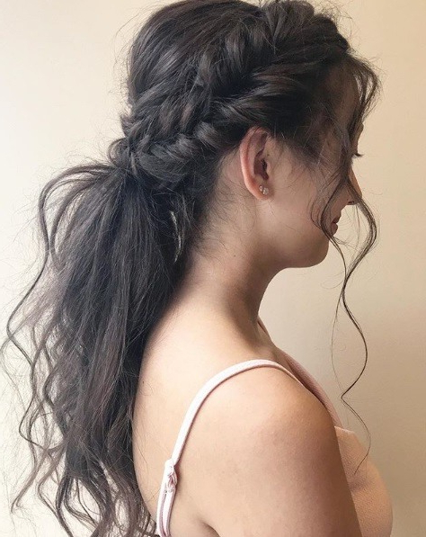24 Top Curly Prom Hairstyles (2019 Update) | All Things Hair Uk Throughout Side Bun Prom Hairstyles With Soft Curls (View 11 of 25)