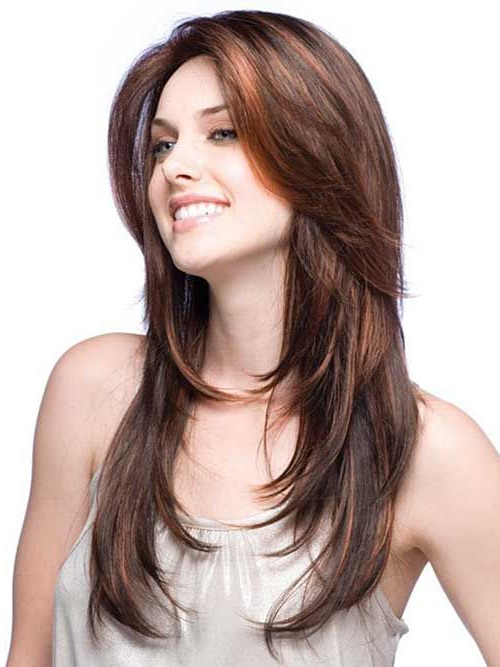 25 Best Feathered Hairstyles – Long Hairstyles 2015 | Hair Styles Throughout Wrapping Feathered Layers Hairstyles Along The Sides (View 14 of 25)