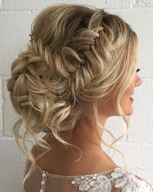 25 Best Formal Hairstyles To Copy In 2018 | Page 2 Of 2 | Stayglam Within Loose Messy Waves Prom Hairstyles (View 13 of 25)
