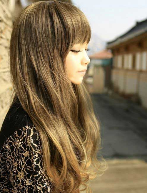 25+ Best Korean Long Hairstyle 2018 + 2019 – Nails C Within Korean Long Hairstyles (View 22 of 25)