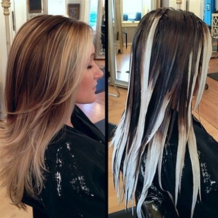 25 Best Long Hairstyles For 2017: Half Ups & Upstyles Plus Daring Intended For Long Hairstyles Colors (View 22 of 25)