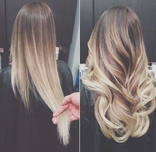 25 Best Long Hairstyles For 2019: Half Ups & Upstyles Plus Daring Intended For Long Hairstyles Ombre (View 18 of 25)
