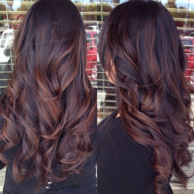 25 Best Long Hairstyles For 2019: Half Ups & Upstyles Plus Daring Throughout Long Hairstyles Red Highlights (View 2 of 25)