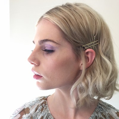 25 Bobby Pin Hairstyles You Haven't Tried But Should | Glamour Inside Long Hairstyles Using Bobby Pins (View 5 of 25)