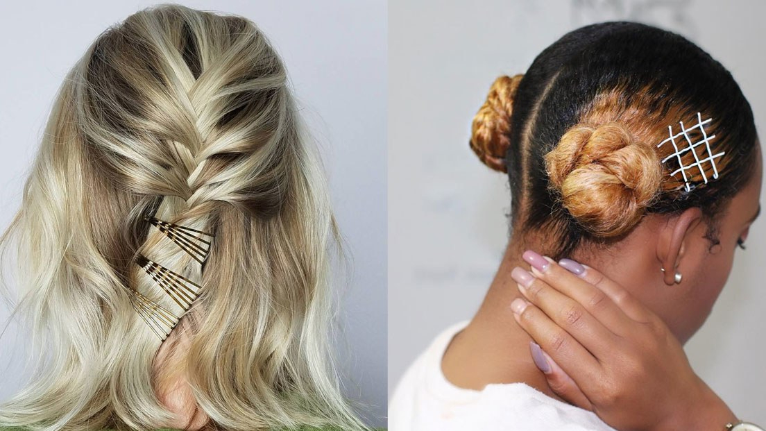 25 Bobby Pin Hairstyles You Haven't Tried But Should | Glamour Regarding Long Hairstyles Using Bobby Pins (View 8 of 25)