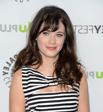 25 Celebrity Haircuts That'll Make You Want Bangs, Stat | Glamour Intended For Long Haircuts Side Bangs (View 22 of 25)