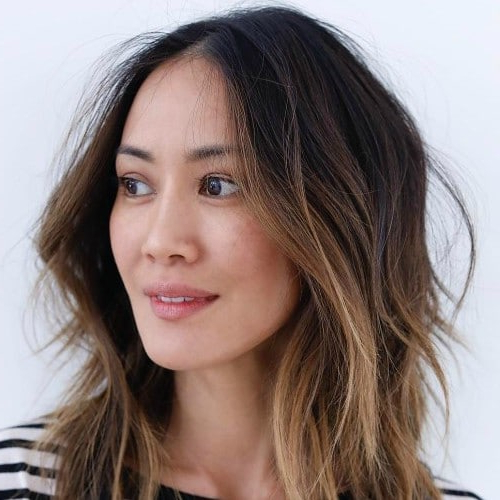 25 Chic Short Hairstyles For Thick Hair – The Trend Spotter For Long Haircuts Thick Hair (View 25 of 25)
