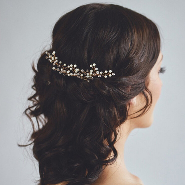 25 Chic Updo Wedding Hairstyles For All Brides With Regard To Low Pearled Prom Updos (View 17 of 25)