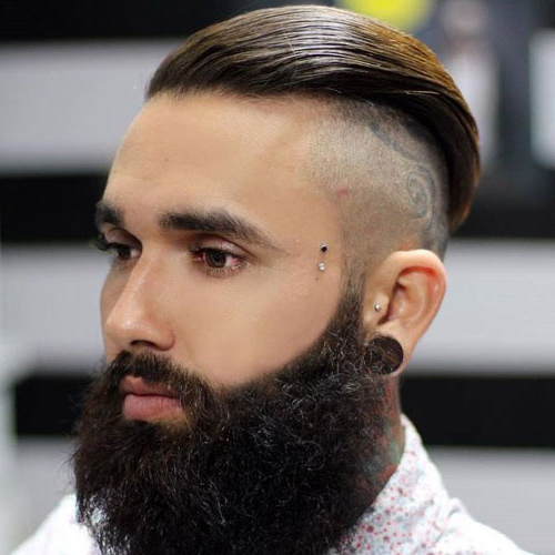 25 Cool Shaved Sides Hairstyles For Men (2019 Guide) In Hairstyles For Long Hair Shaved Side (View 16 of 25)
