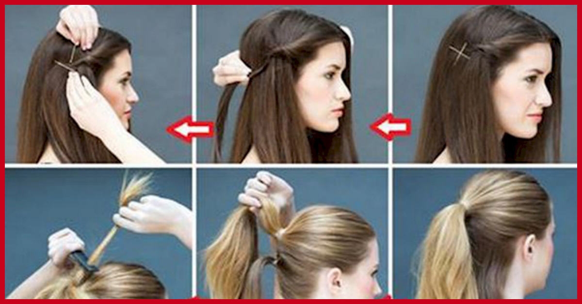 25 Easy Everyday Hairstyles For Medium Length Hair With Regard To Long Hairstyles Daily (View 2 of 25)