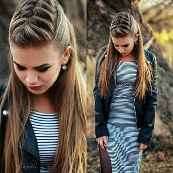 25 Easy Hairstyles For Long Hair | Art And Design In Hairstyles For Long Hair (View 19 of 25)