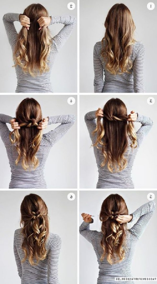 25 Easy Hairstyles For Long Hair | Art And Design Intended For Hairstyles For Long Hair (View 12 of 25)