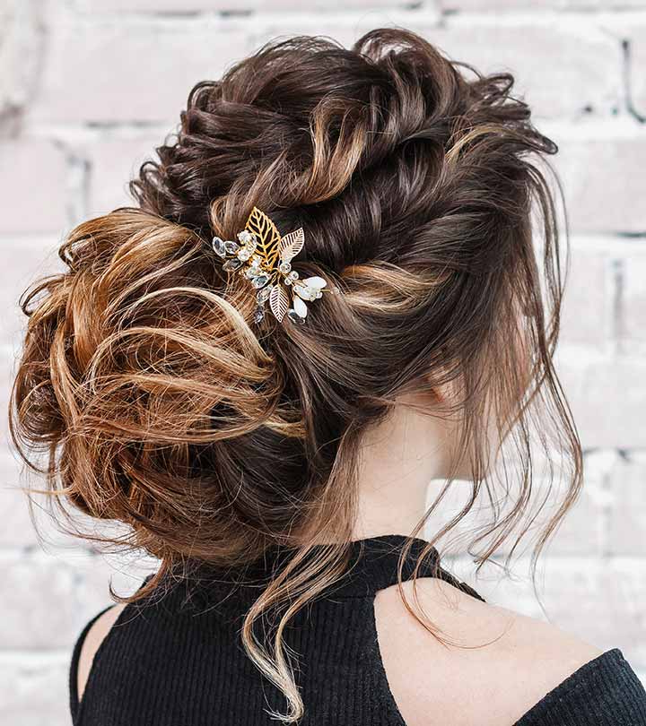25 Elegant Formal Hairstyles For Girls In Low Petal Like Bun Prom Hairstyles (View 18 of 25)