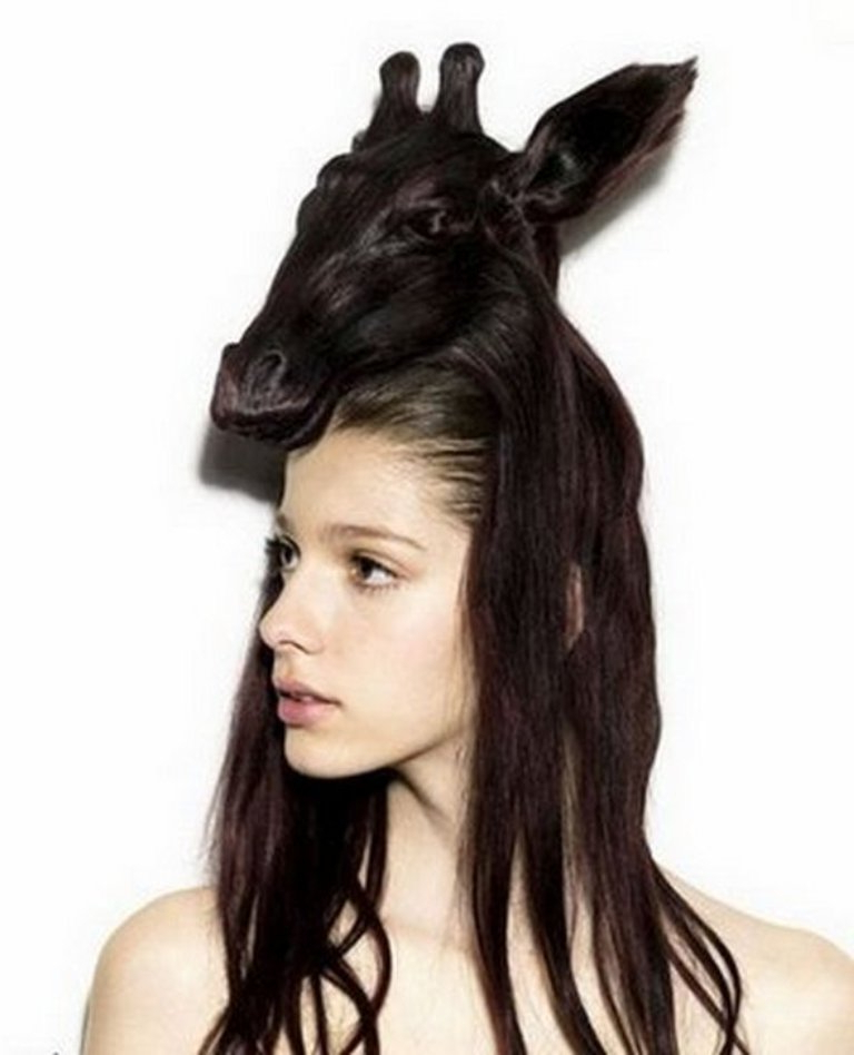 25 Funny And Crazy Hairstyles To Change Yours | Pouted With Regard To Crazy Long Hairstyles (View 16 of 25)