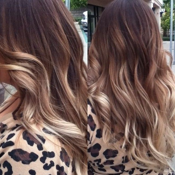 25 Gorgeous Hairstyles For Perfectly Long Hair – Hairstyles Weekly In Ombre Long Hairstyles (View 17 of 25)