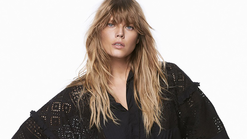 25 Gorgeous Long Hair With Bangs Hairstyles – The Trend Spotter Throughout Long Hairstyles With Angled Swoopy Pieces (View 8 of 25)