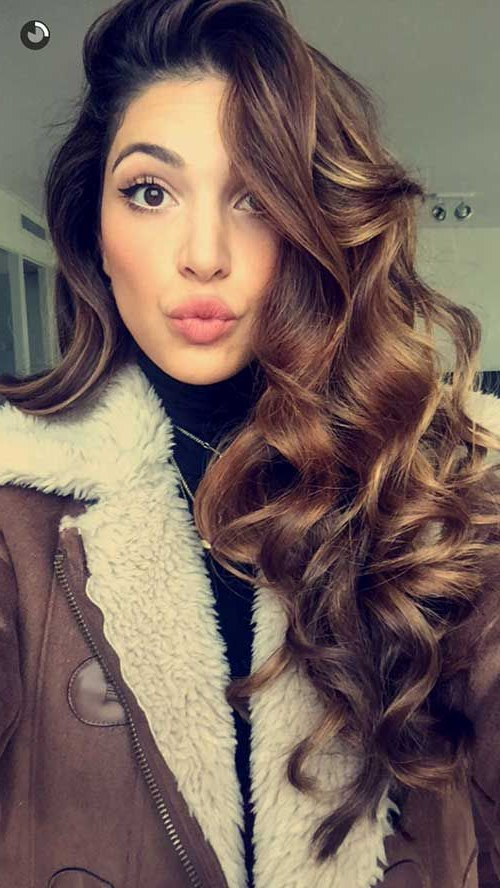 25 Gorgeously Long Curly Hairstyles | The Mane Idea | Curly Hair Within Long Hairstyles With Curls (View 9 of 25)