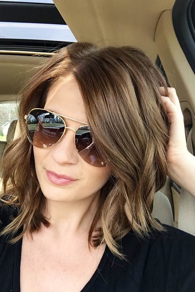25 Hairstyles For Long Faces (Trending In June 2019) Intended For Long Haircuts For Long Faces (View 12 of 25)