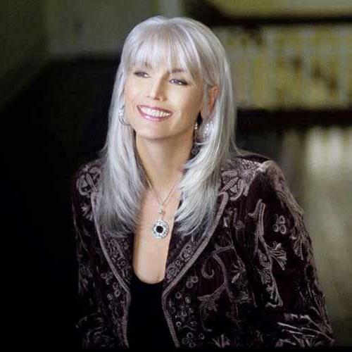 25+ Hairstyles Older Women | Hair | Grey Hair Looks, Grey Hair With Regarding Long Haircuts For Older Ladies (View 5 of 25)