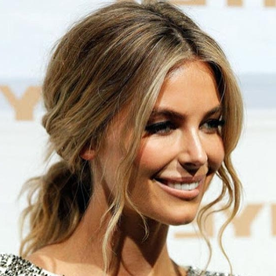 25 Hairstyles To Slim Down Round Faces Regarding Long Hairstyles For Chubby Faces (View 21 of 25)