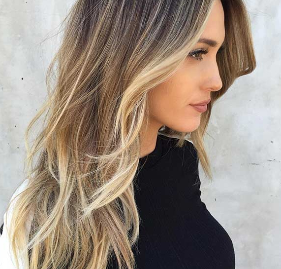 25 Long Haircuts That Add Volume And Texture To Thin Hair Types Inside Classic Layers Long Hairstyles For Volume And Bounce (View 9 of 25)