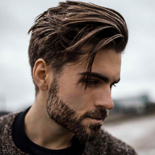 25 Medium Length Hairstyles For Men 2019 | Men's Haircuts + Intended For Messy And Modern Side Swept Hairstyles (View 4 of 25)