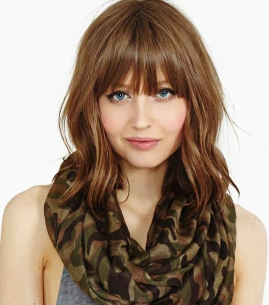 25 Most Amazing Fringe Haircuts For Lovely Women Throughout Long Hairstyles With A Fringe (View 8 of 25)