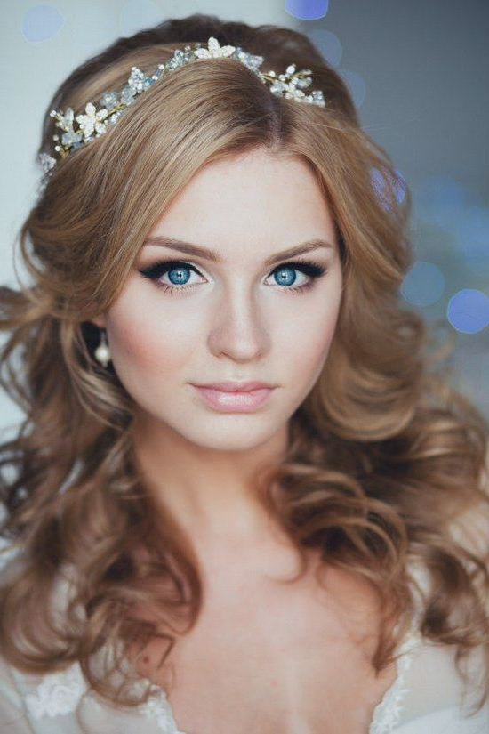 25 Most Coolest Wedding Hairstyles With Headband – Haircuts For Long Hairstyles With Headbands (View 4 of 25)