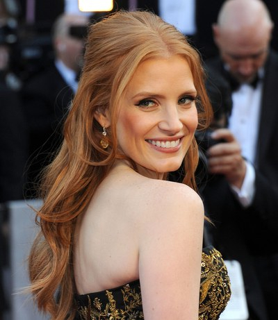 25 Of The Best Oscar Hairstyles Ever | Glamour Within Long Hairstyles Glamour (View 2 of 25)