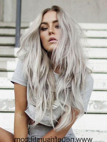 25 Platinum Blonde Long Hairstyles – Fashion And Hairstyle Regarding Blonde Long Hairstyles (View 15 of 25)