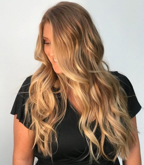 25 Prettiest Hair Highlights For Brown, Red & Blonde Hair In 2019 Inside Long Hairstyles With Highlights (View 16 of 25)