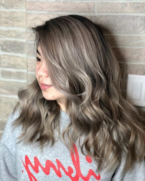 25 Prettiest Hair Highlights For Brown, Red & Blonde Hair In 2019 Within Highlighted Long Hairstyles (View 5 of 25)