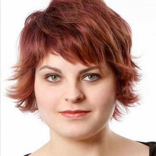 25 Pretty Short Hairstyles For Chubby Round Faces – Crazyforus Within Long Hairstyles For Round Fat Faces (View 25 of 25)