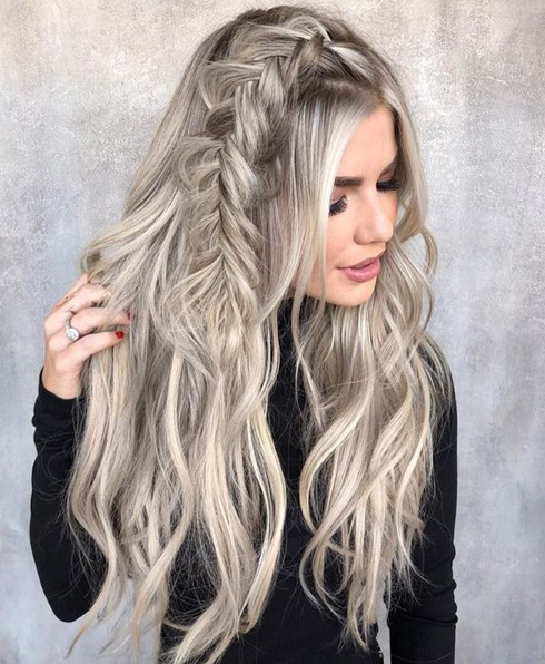 25 Quick Hairstyles For Long Hair Summer 2018 | Knowledge Regarding With Regard To Summer Long Hairstyles (View 21 of 25)