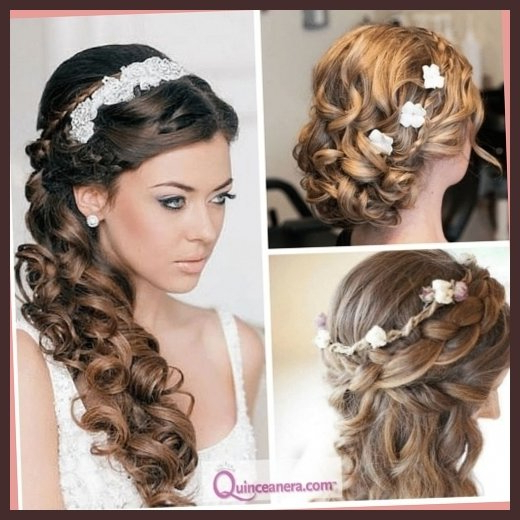 25 Quinceanera Hairstyles For Girls | Hairstylo For Long Curly Quinceanera Hairstyles (View 9 of 25)