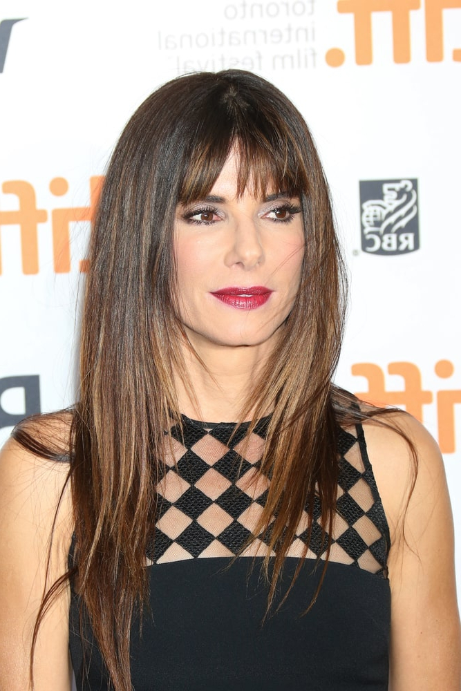 25 Short Bangs Haircut Examples (Photos) In Long Hairstyles That Frame The Face (View 17 of 25)