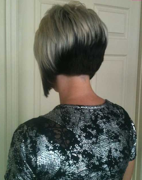 25 Short Inverted Bob Hairstyles With Regard To Long Inverted Bob Back View Hairstyles (View 24 of 25)