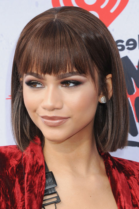 25 Stunning Bob Hairstyles For Black Women Pertaining To Long Bob Hairstyles With Bangs Weave (View 13 of 25)