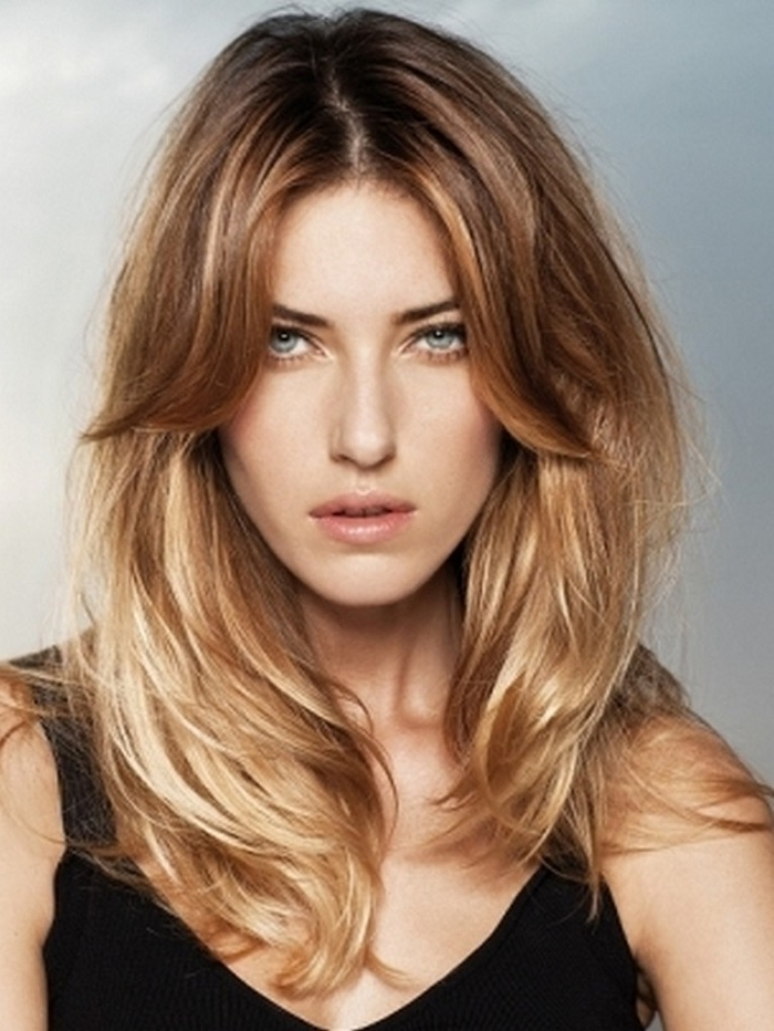 25 Stunning Long Hairstyles For 2015 Inside Long Hairstyles Layered (View 18 of 25)