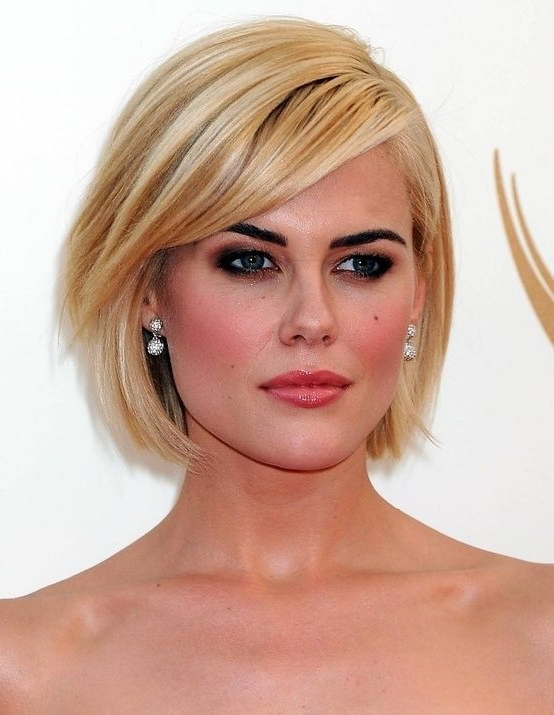 26 Best Short Haircuts For Long Face – Popular Haircuts With Long Hairstyles For Oval Faces And Thin Hair (View 21 of 25)