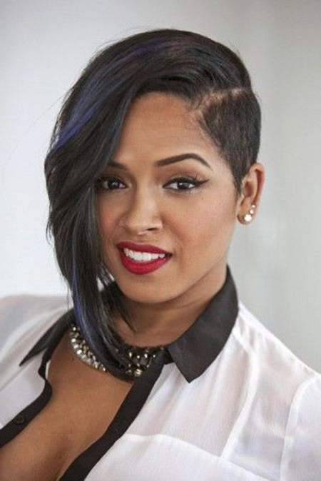 26 Cool Asymmetrical Bob Hairstyles | Styles Weekly Throughout One Side Short One Side Long Hairstyles (View 3 of 25)