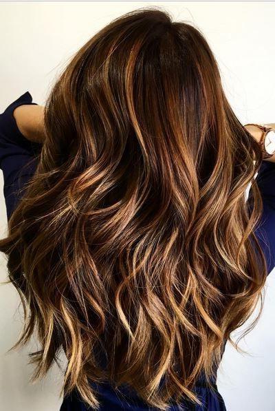 26 Cute Haircuts For Long Hair – Hairstyles Ideas – Popular Haircuts In Dark Brown Long Hairstyles (View 20 of 25)