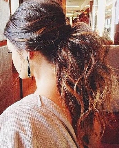 26 Cute Haircuts For Long Hair – Hairstyles Ideas – Popular Haircuts In Ponytail Layered Long Hairstyles (View 12 of 25)