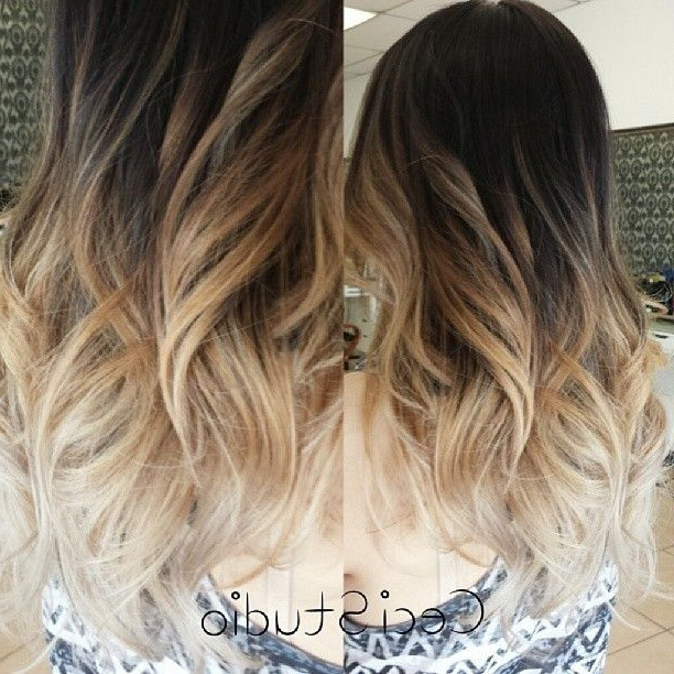 26 Flattering Hairstyles For Medium Length Hair 2017 – Pretty Designs For Long Layered Ombre Hairstyles (View 16 of 25)