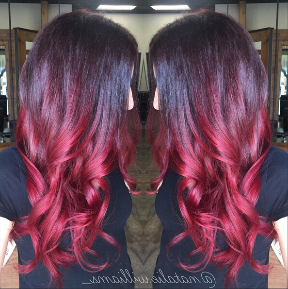 26 Stunning New Red Hair Colour Ideas – Popular Haircuts Pertaining To Long Hairstyles Red Ombre (View 22 of 25)