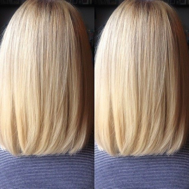27 Beautiful Long Bob Hairstyles: Shoulder Length Hair Cuts Regarding One Length Long Haircuts (View 11 of 25)