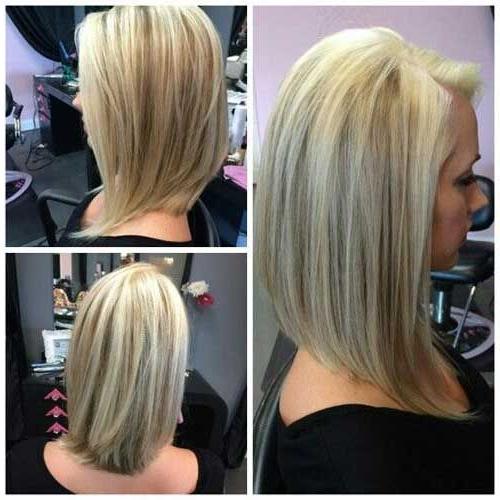 27 Beautiful Long Bob Hairstyles: Shoulder Length Hair Cuts With Long Hairstyles Bob (View 22 of 25)