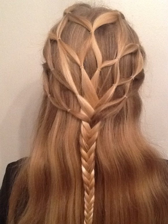 27 Cute Hairstyles For Girls | Golbis Intended For Cute Braiding Hairstyles For Long Hair (View 5 of 25)
