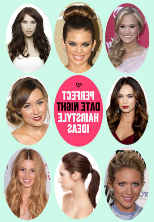 27 Easy Diy Date Night Hairstyles For 2019 Inside Long Hairstyles For Night Out (View 12 of 25)