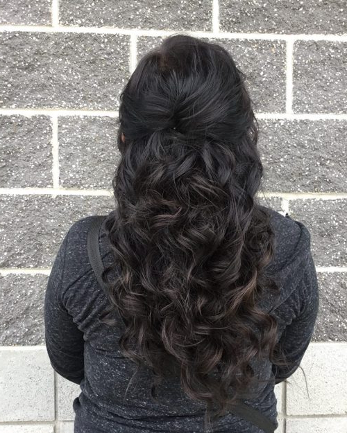 27 Easy Diy Date Night Hairstyles For 2019 With Long Hairstyles For Night Out (View 5 of 25)